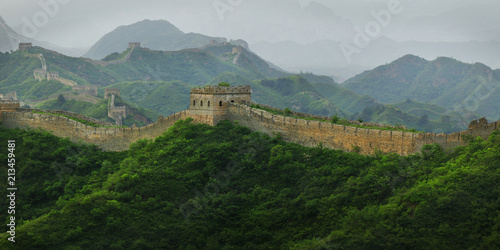 Deurstickers Chinese Muur Great Wall of china, jinshanling