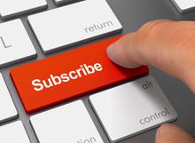 Subscribe Pushing Keyboard Wit...