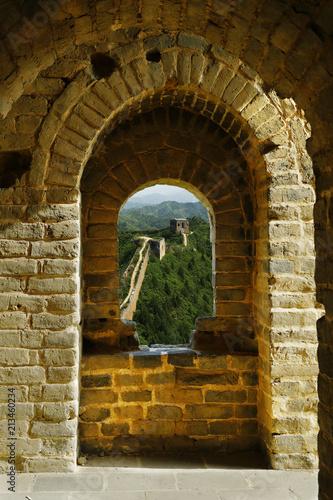 Fotografia  Great Wall of china, jinshanling