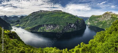 Keuken foto achterwand Europa Geiranger Fjord