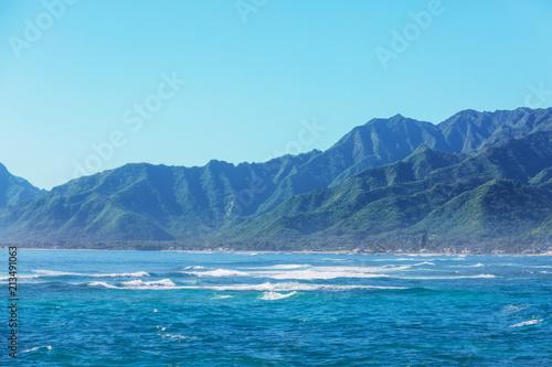 Spoed Foto op Canvas Oceanië Oahu