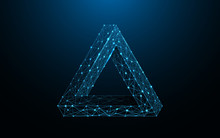 Penrose Triangle Form Lines, T...