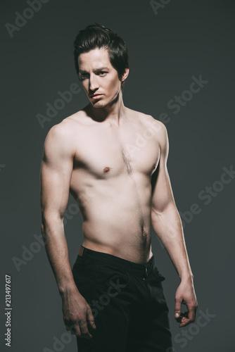 Foto op Aluminium Akt naked attractive man