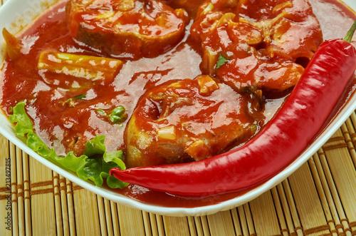 Photo Assam fish curry