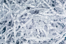 Background Of White Shredded P...