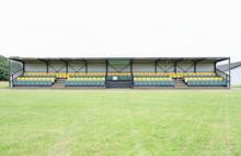 Pavilion Sports Pitch Empty Va...
