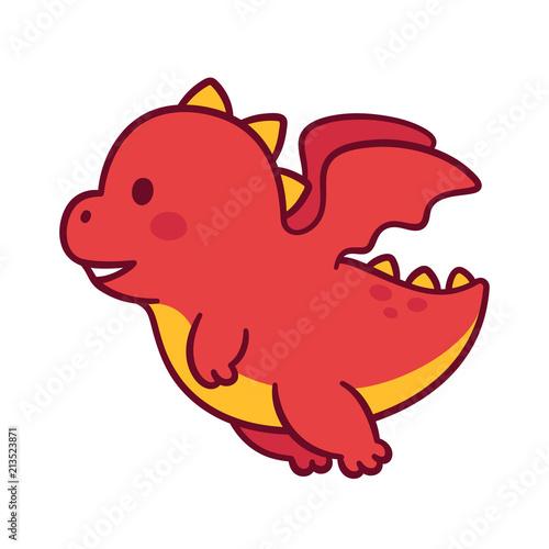 Photo Cute cartoon dragon