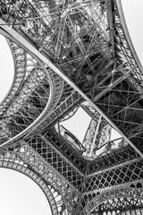 Panel Szklany Architektura Eiffel Tower in Summer