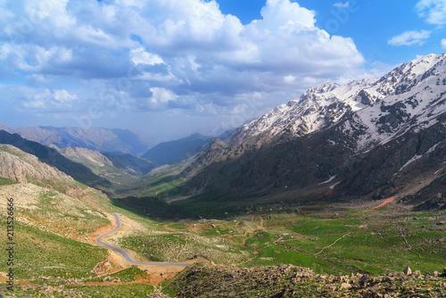 Fotografie, Obraz  Howraman Valley in Zagros Mountain. Kurdistan Province, Iran.