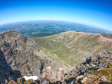 Views From The Summit Of Ben N...