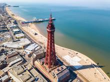 Blackpool Tower In Blackpool, UK