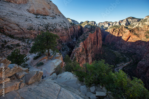 Foto op Canvas Verenigde Staten Landscape of the Zion National park, Utah, USA