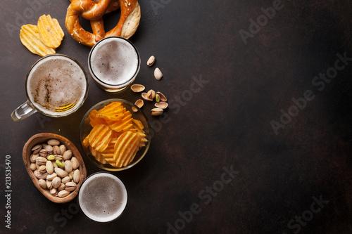 In de dag Bier / Cider Lager beer and snacks