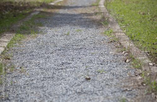 Fotografia, Obraz  Gravel Walkway