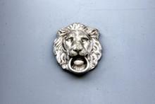 Metal Knocker With Lion - Hera...