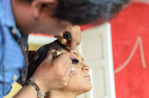 Maquillaje Canvas Print