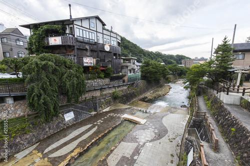 Keuken foto achterwand Asia land 有馬温泉の風景
