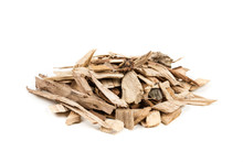 Pile Of Shredded Wood Chips Fo...