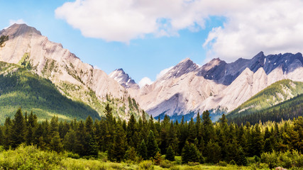 Great Rocky Mountains at Banff National Park, Calgary, Canada