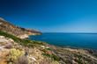 Ocean beach on the Crete
