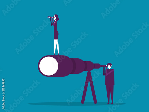 Business teamwork Canvas Print