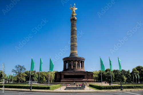 Poster Centraal Europa Berlin, Großer Stern mit Siegessäule