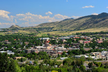 Downtown Golden, Colorado In T...