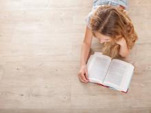 Child Reading Book
