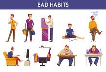 People Bad Habits And Behavior...