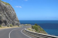 The Great Ocean Road With Slop...