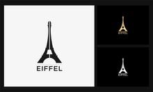 Eiffel Tower Icon French Logo