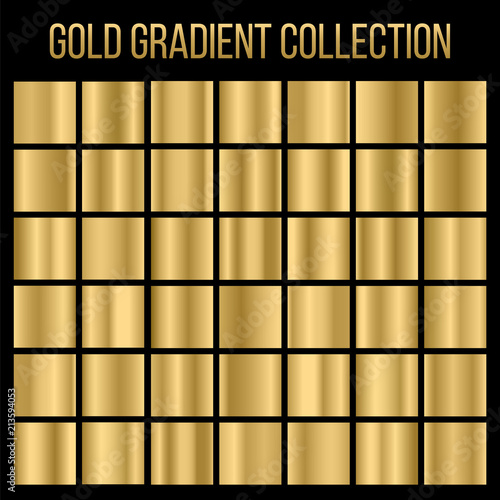 Poster Metal Creative vector illustration of gradient collection. Art design background texture. Abstract concept graphic element