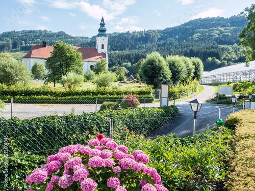 Keuken foto achterwand Europa Klostergarten iStift Engelhartszell