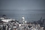 Lisbon with cathedral, pantheon and Vasco da Gama bridge