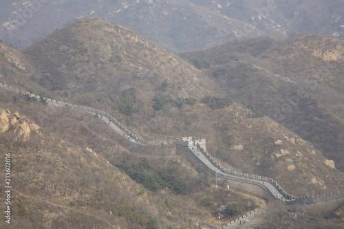 Foto op Plexiglas Donkergrijs The Great Wall China