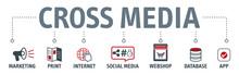 Banner Crossmedia Vector Illus...