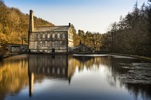 Gibson Mill, Hardcastle Crags,...
