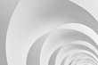 Leinwanddruck Bild - art and design of architecture ceiling - modern curve pattern