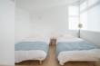 明るい寝室
