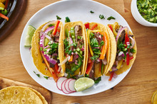 Tasty Mexican Tacos With Beef ...