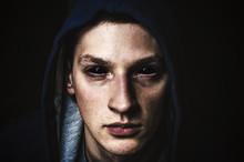 Man With Black Eyes