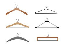 Realistic Wooden Hangers. For ...