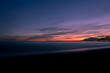 A purple sunset