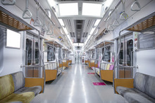 Inside Of Subway Train