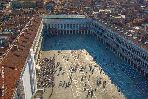 Plakat Piazza di San Marco w Wenecji