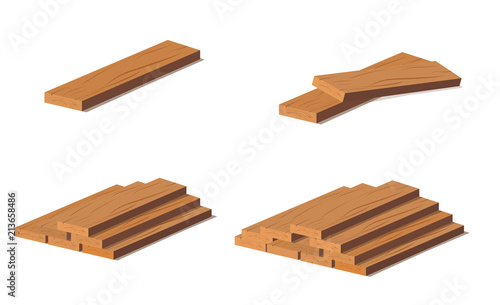 Photographie Wooden logs