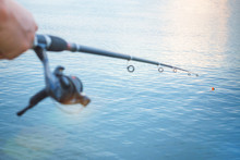 Float And Fishing Rod Wheel, M...