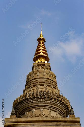 Foto op Plexiglas Bedehuis Mahabodhi Temple, Bodhgaya in india