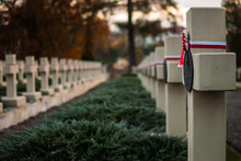 Polish Military Gravestones On...
