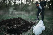 Killer Is Digging A Grave For ...